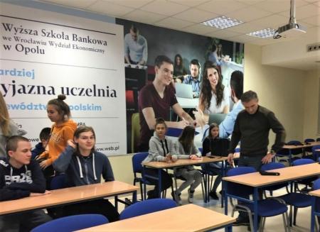 Wizyta studyjna w WSB w Opolu