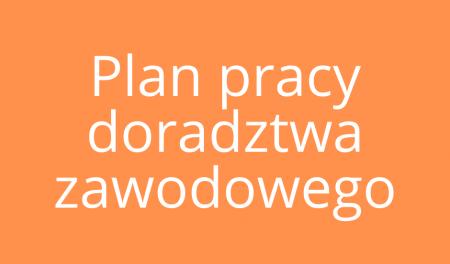Plan pracy doradcy zawodowego 2021/2022