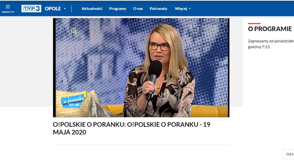 O nas w TVP 3 OPOLE