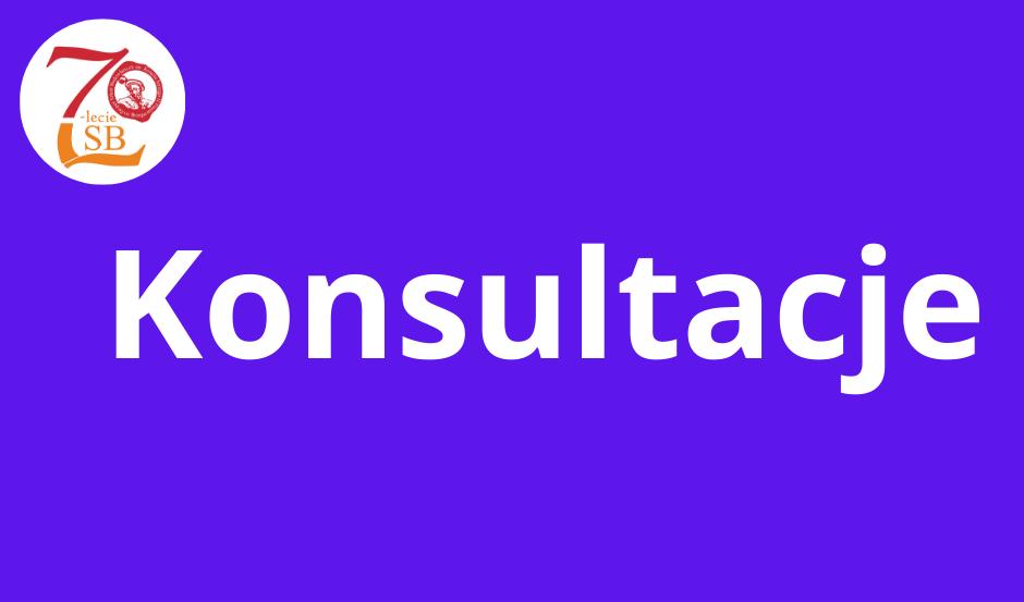 Uczniowie, konsultacje dla Was w szkole