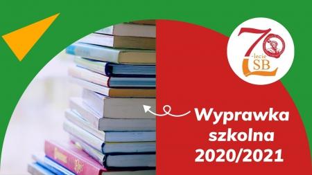 Wyprawka szkolna 2020/2021