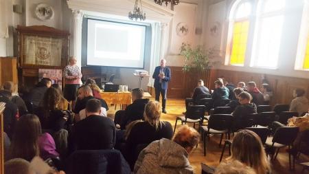 Spotkanie z  PWSZ w Nysie