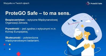 Aplikacja  ProteGo Safe - bezpieczny powrót do szkoły