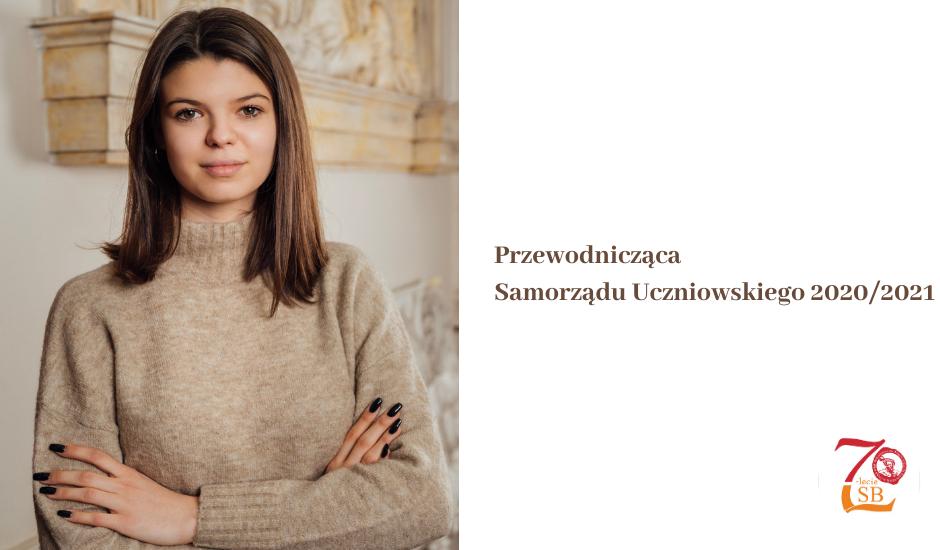 Martyna Rybarczyk przewodniczącą SU