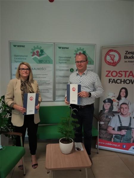 ZSB w Brzegu i Wipak Polska Sp z.o.o. podpisały porozumienie o współpracy