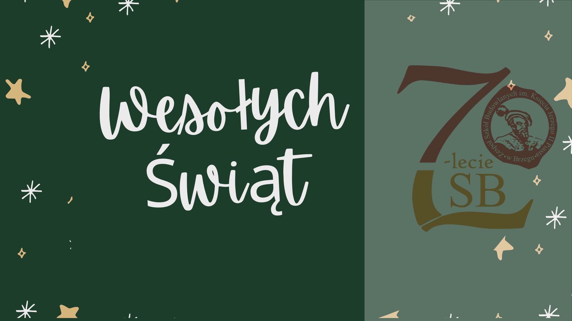 Życzenia Świąteczne od Samorządu Uczniowskiego
