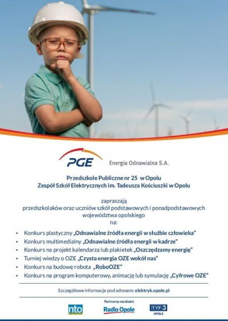 Wielki konkurs PGE Energia Odnawialna