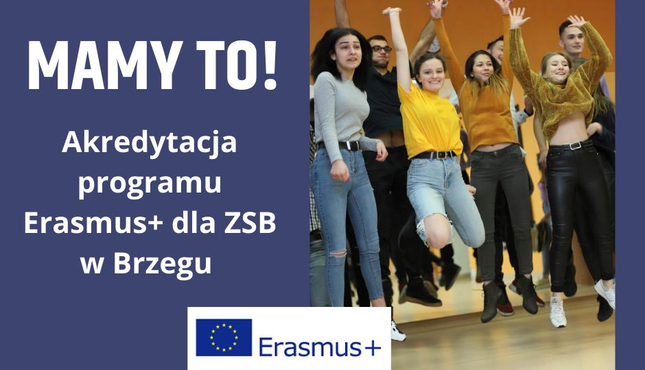 Akredytacja programu Erasmus+ dla naszej szkoły