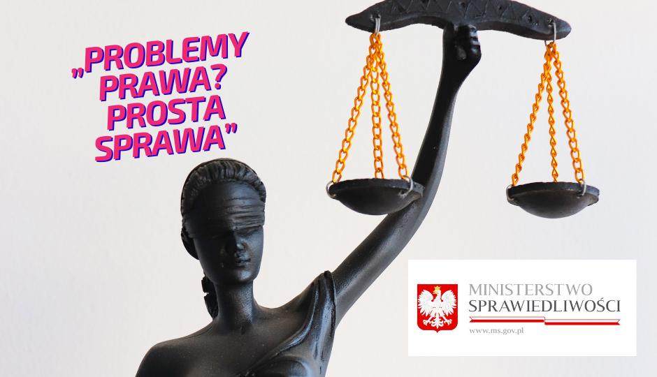 Lekcja online z programem Ministerstwa Sprawiedliwości